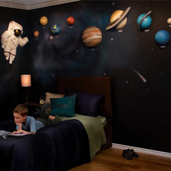 3D Solar System Wall Art Decor Part 95
