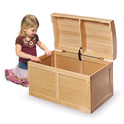 Barrel Toy Box