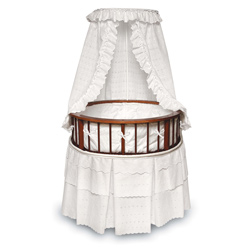 Cherry Elegance Bassinet