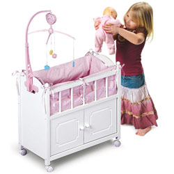 Doll Crib & Bed