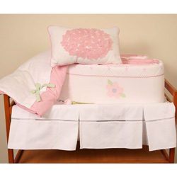 Flower Garden Crib Bedding