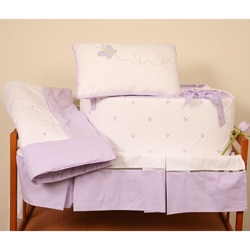 Lavender Love Crib Bedding