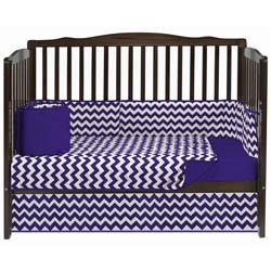 Chevron Crib Bedding Set