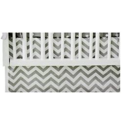 Chevron Standard Crib Dust Ruffle
