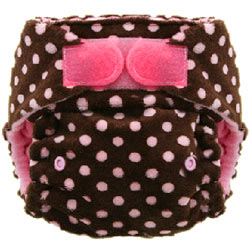 Minky One Size Pocket Diaper