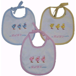 Personalized Ducky Bibs
