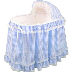 Gingham Bassinet Set