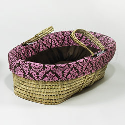 Dandy Damask Moses Basket