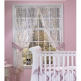 Lace Window Drapes
