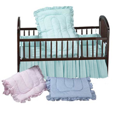 Gingham Crib Bedding