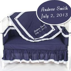 Personalized Nancy Crib Bedding