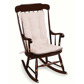 Striped Adult Rocking Chair Cushion by Baby Doll
