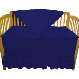 Solid Color Crib Bedding Set