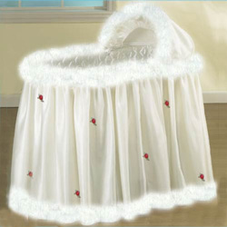 Winter White Bassinet