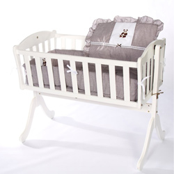 Teddy Bear Cradle Bedding