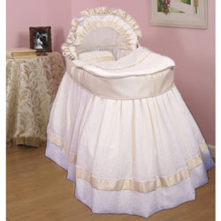 Buy Baby Bassinet Cradle Set Wicker Bassinet With Stand