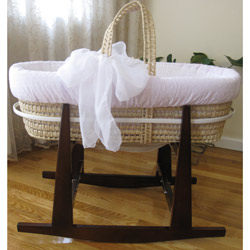 Baby's Breath Moses Basket