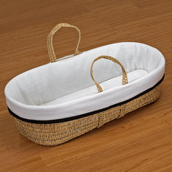 Neat Trim Moses Basket