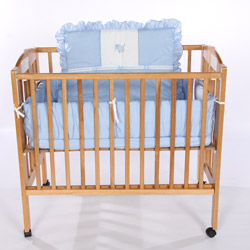 Animal Appliqu� Porta Crib Bedding