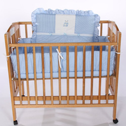 Teddy Bear Porta Crib Bedding