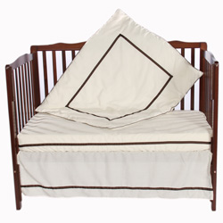 Chelsea Porta Crib Bedding Set