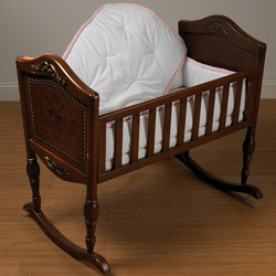 Perfectly Pretty Cradle Bedding