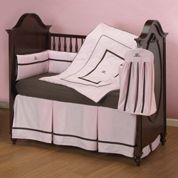 Chocolate Berry Comforts Crib Bedding