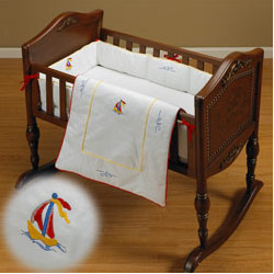 Sea Breeze Cradle Bedding