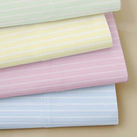 Classic Stripe Round Crib Sheet