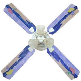 Beach Umbrella Ceiling Fan