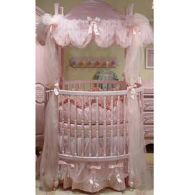 Monaco Round Crib Bedding Set