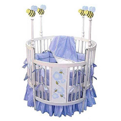 Bumble Bee Round Baby Crib