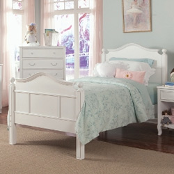 Emma Bed with Tall Headboard