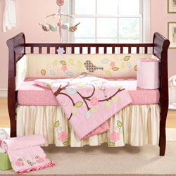 Love Bird Crib Bedding Set