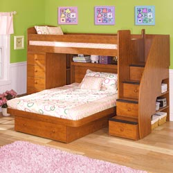 Sierra Space Saver Bunkbed Collection