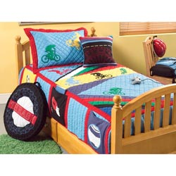 Biking Twin Bedding