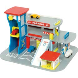 City Auto Garage Play Set