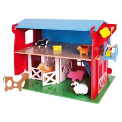 Red Barn Play Set
