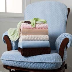 Minky Glider Chair Cover