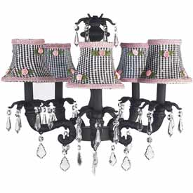 Black Chateau Chandelier