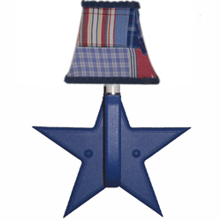 Blue Star Wall Sconce