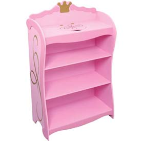 Princess 4 Shelf Bookcase