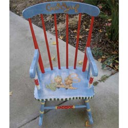 Cowboy Rocking Chair