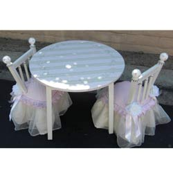 Round Princess Table and Chair Set