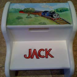 Thomas the Tank Engine Step Stool