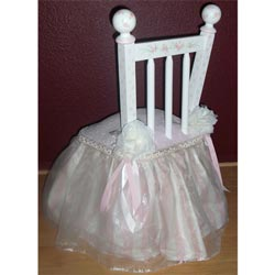 Stripe Princess Chair