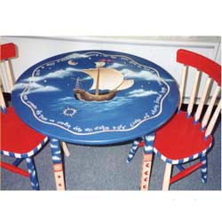 Ship Table and Chair Set