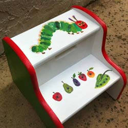 The Very Hungry Caterpillar Two Step Stool
