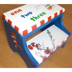 Cat in the Hat Step Stool