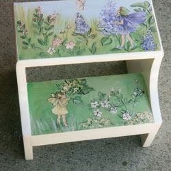 Fairies Step Stool